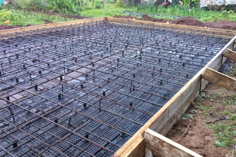 Фундаменты, бетонщики, монолит
