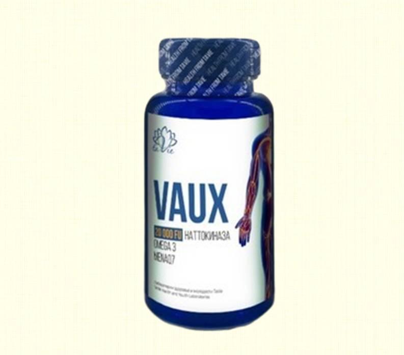 Vaux - очищение сосудов, профилактика атеросклероза и тромбообразования